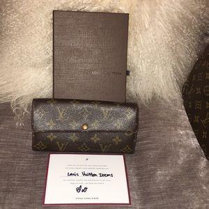 LV wallet- Authentic